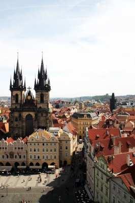 Relógio Astronômico de Praga - Nossa Senhora de Týn 2