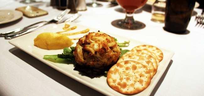O que fazer em Annapolis - Carrol's Creek Cafe crabcake