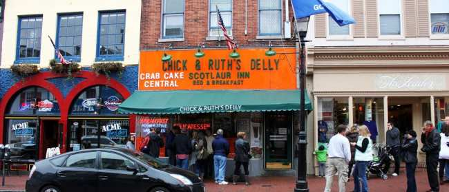 O que fazer em Annapolis - Chick and Ruth's Delly 2