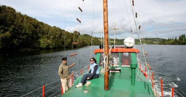 Chiloé - Passeio de barco pelas ilhas