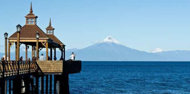 Futillar - Vulcão Osorno ao fundo