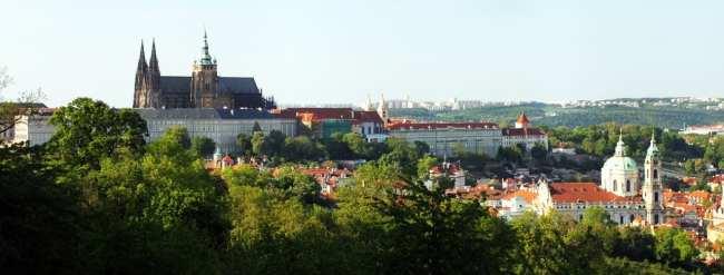 Petrin em Praga - Castelo de Praga, Catedral de São Vitu e Mala Strana