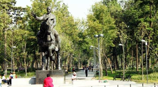 Zocalo Centro Histórico da Cidade do México - Perto do Palácio de Belas Artes