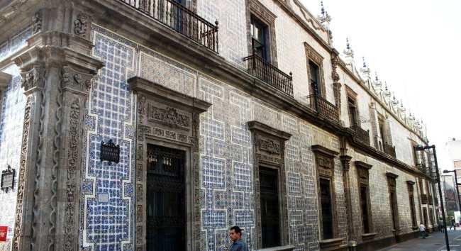 Zocalo Centro Histórico da Cidade do México - Casa de Azulejos
