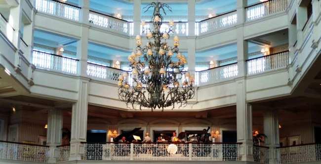 Guia completo de Orlando - Interior do Grand Floridian