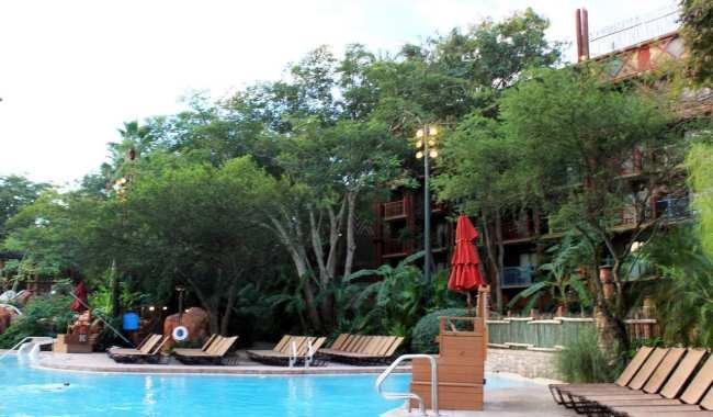Guia completo de Orlando - Piscinas do Animal Kingdom Lodge