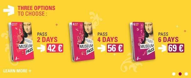 Guia de Paris - Paris Museum Pass