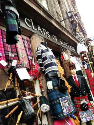 Roteiro de Edimburgo - Clichês