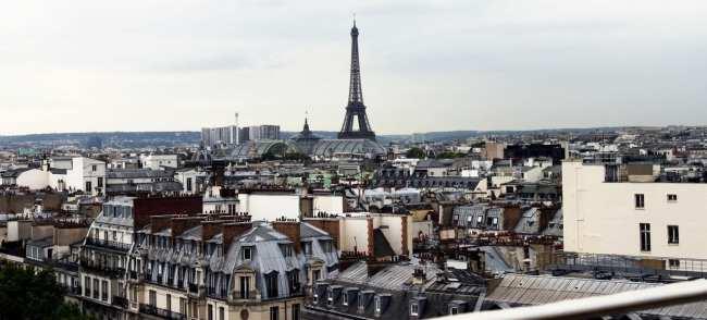 Roteiro de Paris - Vista do alto da Printemps