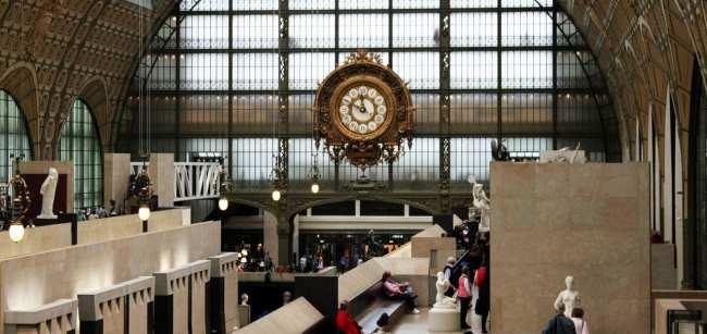 Roteiro de Paris - Museu d'Orsay