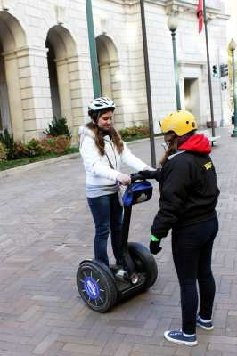 Segway Tour em Washington - Aprendendo a andar 1