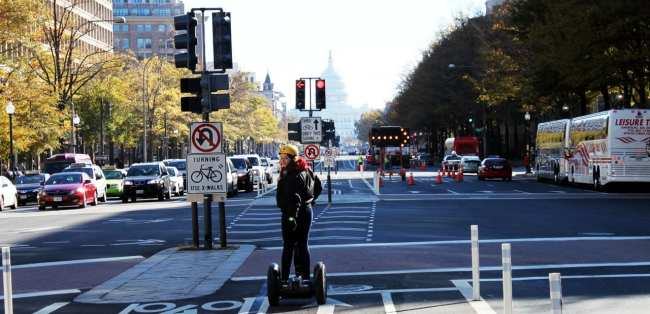 Segway Tour em Washington - Pennsylvania Avenue