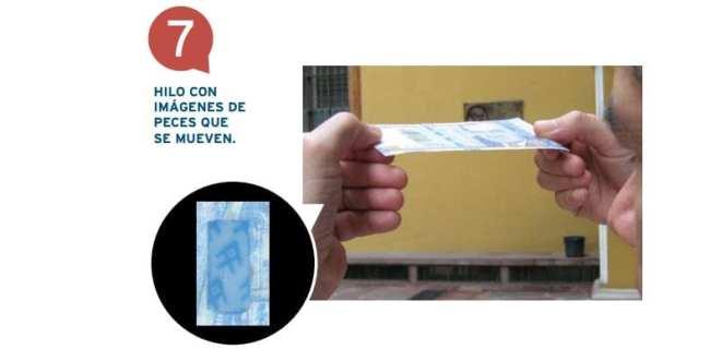 Como identificar notas falsas de nuevos soles no Peru - Fita especial