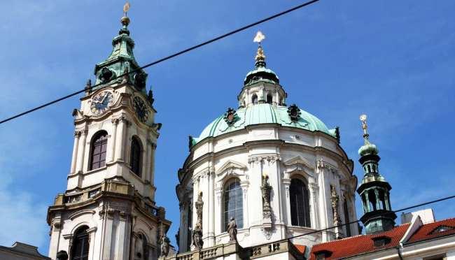 Malá Strana Praga - Igreja de São Nicolau 2