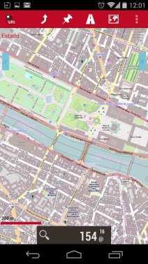 Melhor app de mapas offline - OruxMaps Zoom nível 16