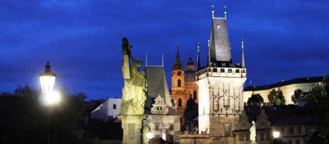 Ponte Carlos em Praga - Vista 2