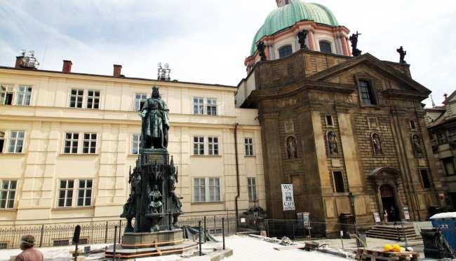 Ponte Carlos em Praga - Rei Carlos IV - 2