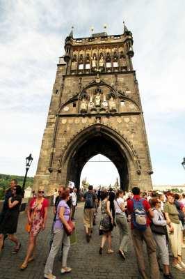 Ponte Carlos em Praga - Vista 11