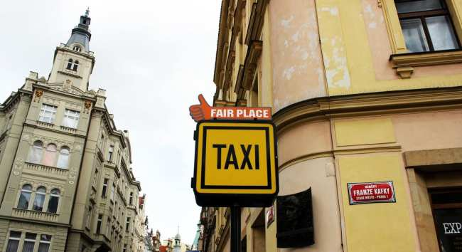 Pegando Taxi em Praga - Fair Price 1