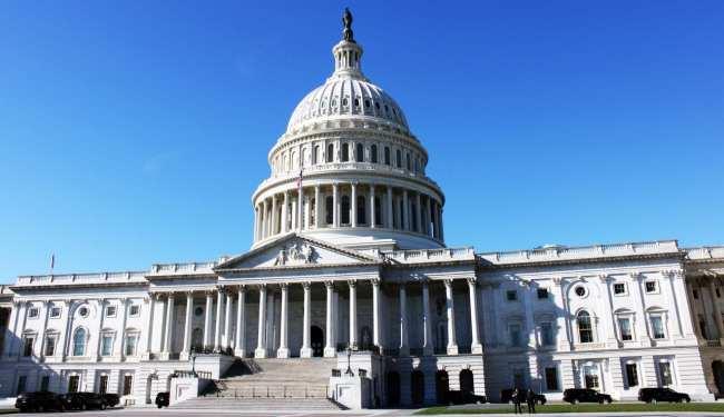 Capitólio de Washington - Vista da entrada dos fundos 1
