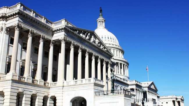 Capitólio de Washington - Vista da entrada dos fundos 2