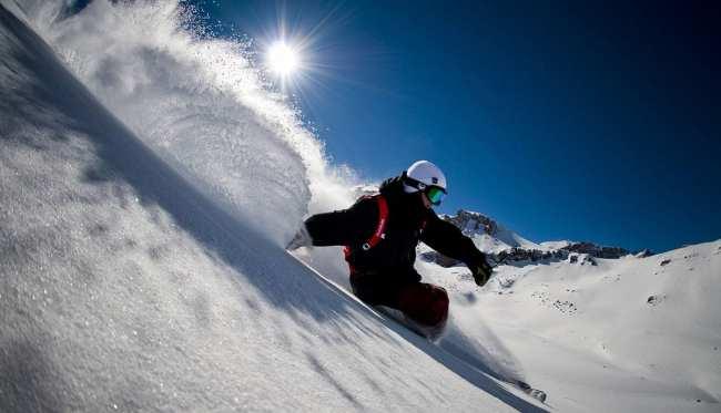 Guia de Valle Nevado - Esquiadores 1