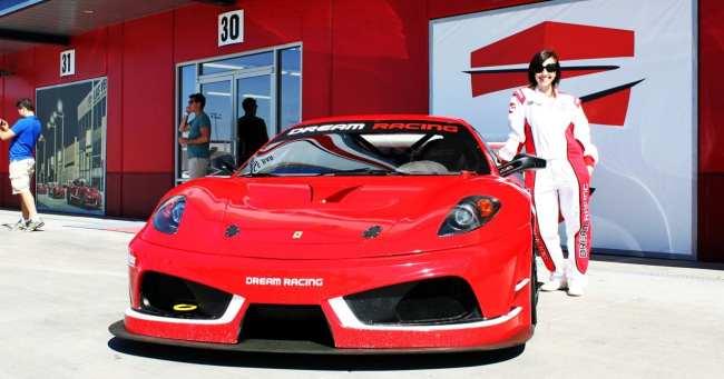 Las Vegas Dream Racing - Natalie e sua Ferrari F430 GT