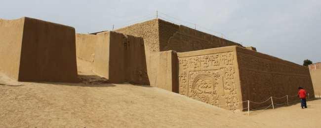 Sítios Arqueológicos de Trujillo - Huaca Arco Iris ou Del Dragón 2