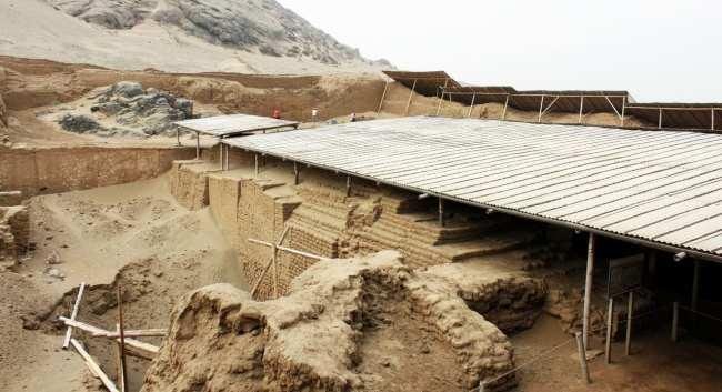 Sítios Arqueológicos de Trujillo - Huaca de la Luna 1
