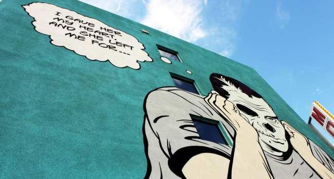 Walking Tour Downtown Vegas - Graffiti 1