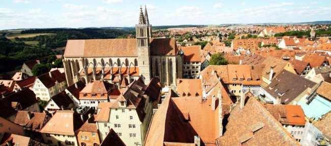 Rothenburg - Vista do alto da torre da prefeitura 2