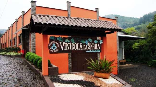 Vinícolas e cervejarias em Treze Tílias - Vinícola da Serra 2