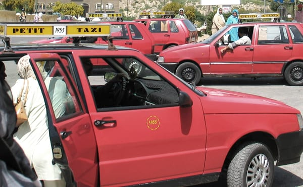 Petit taxis de Fez