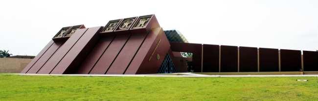 Senhor de Sipán no Norte do Peru - Museo Tumbas Reales de Sipán