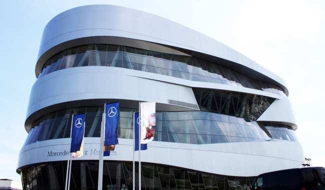 Stuttgart - Museu da Mercedes-Benz 2
