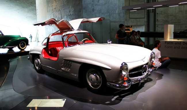 Stuttgart - Museu da Mercedes-Benz Asa de Gaivota 2