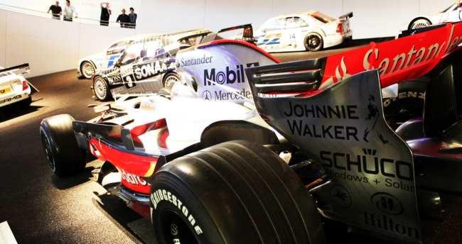 Stuttgart - Museu da Mercedes-Benz Fórmula 1