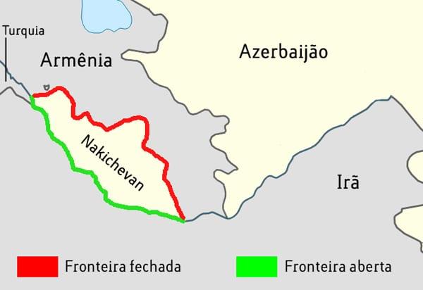 Fronteiras Nakichevan