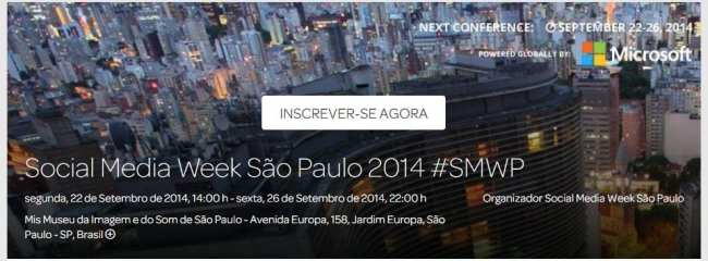 Palestra Sundaycooks - Social Media Week 2014