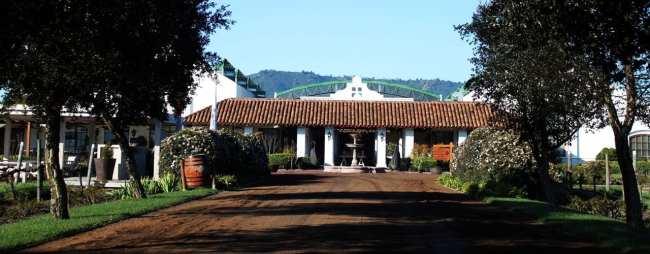 Vinícola Casas del Bosque Santiago - Entrada