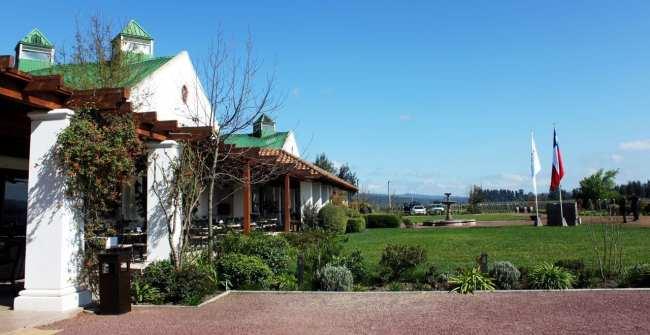 Vinícola Casas del Bosque Santiago - Outra vista da casa