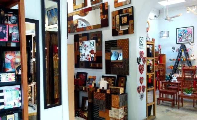 Dédalo, uma linda loja de artesanato de Lima - 1
