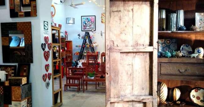 Dédalo, uma linda loja de artesanato de Lima - 2