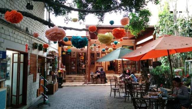 Dédalo, uma linda loja de artesanato de Lima - café