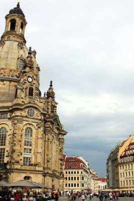 Dicas de viagem a Dresden - Cidade Velha Alstadt Frauenkirche 2