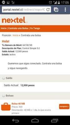 Como conseguir Internet 3G no Chile - Nextel 2
