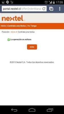 Como conseguir Internet 3G no Chile - Nextel 5