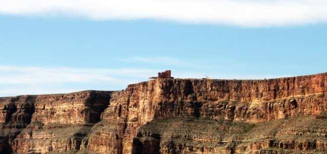 Passeio de helicóptero pelo Grand Canyon perto de Las Vegas - Skywalk
