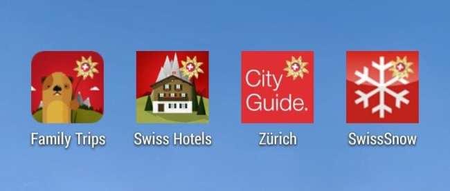 Apps My Switzerland - Suíça