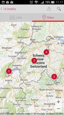 Apps My Switzerland - Suíça - Swiss Best Hotels 3